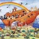 Noé ou la création restaurée  par M de La Chevrelière GRIC-Tunis